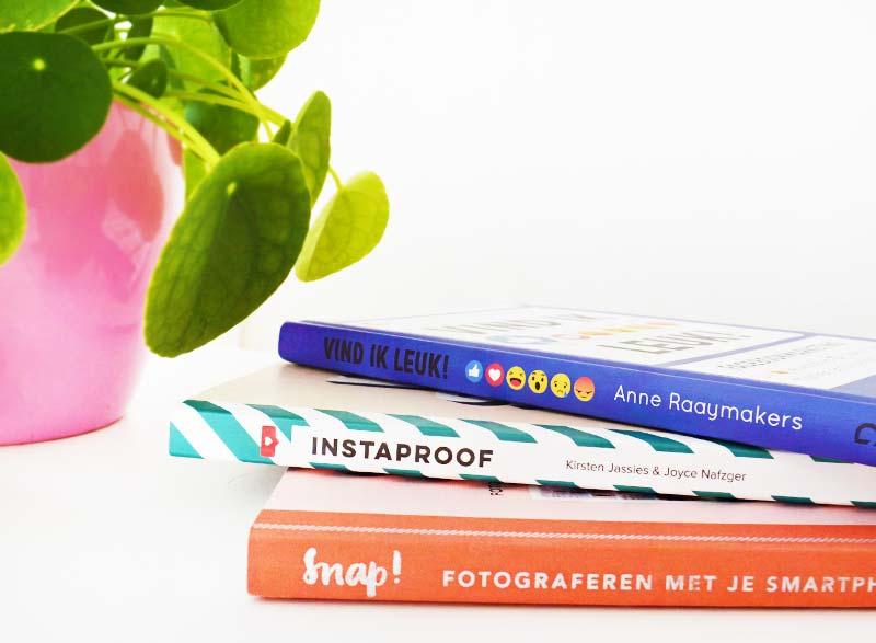 3 Boeken waar ik als blogger/Instagrammer iets aan heb!