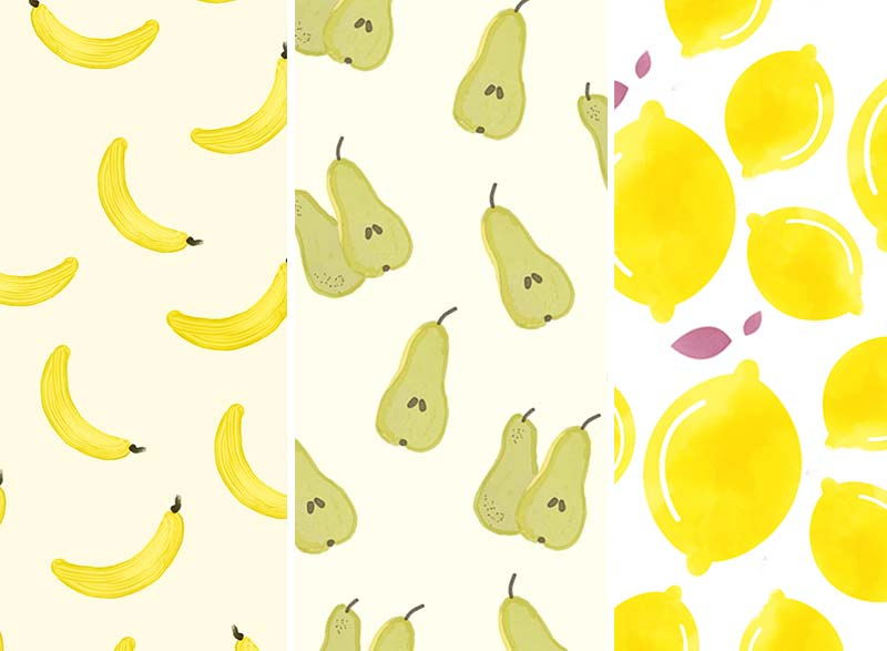 PRINTABLE WRAPPING PAPER #4 Fruit