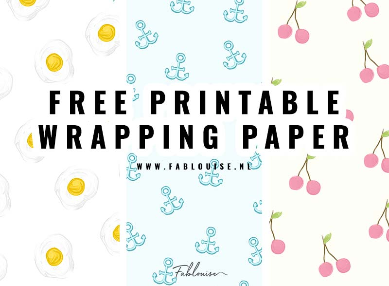 PRINTABLE WRAPPING PAPER #6