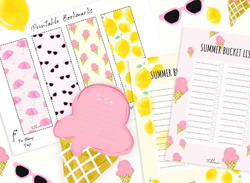 Join the Club & ontvang gelijk de printable Summer Pack in je mail!