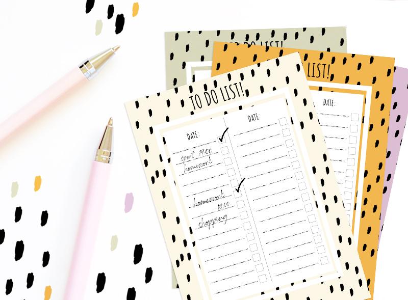 Printable To Do list!