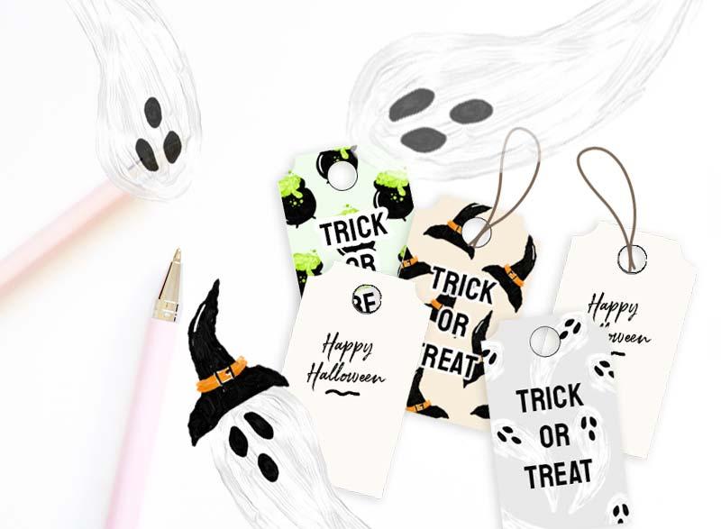 Printable Halloween Treat Tags!