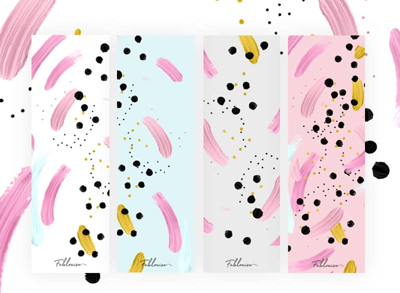 FREE PRINTABLE BOOKMARKS! Abstract