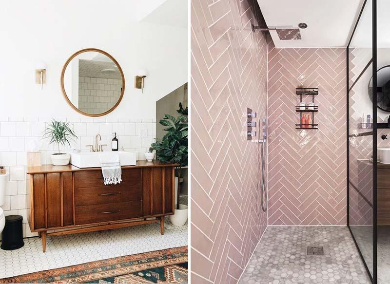 Badkamer stijlen om bij weg te dromen!