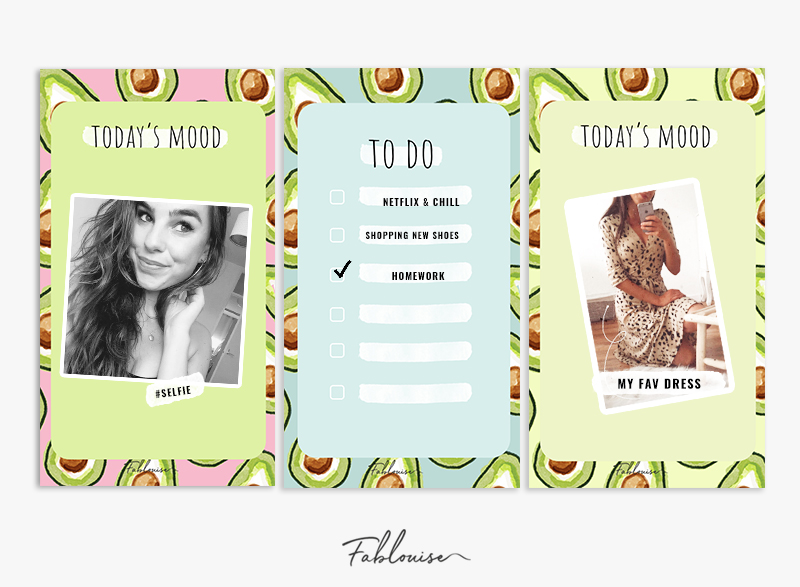 FREE INSTAGRAM STORY TEMPLATES! #2