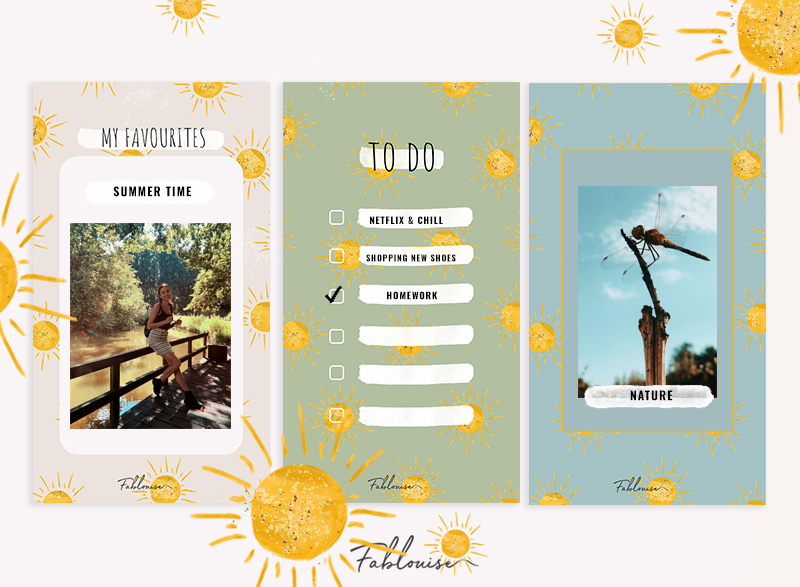 FREE INSTAGRAM STORY TEMPLATES! #6