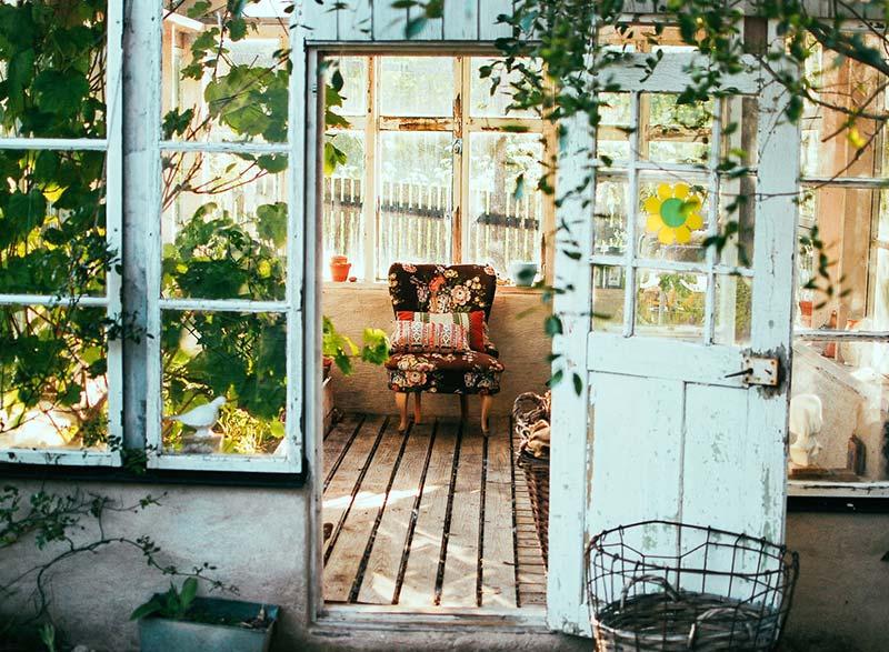 Genieten van een mooie tuin!